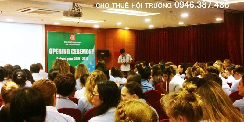 Hội thảo Trung tâm ngoại ngữ Bình Minh