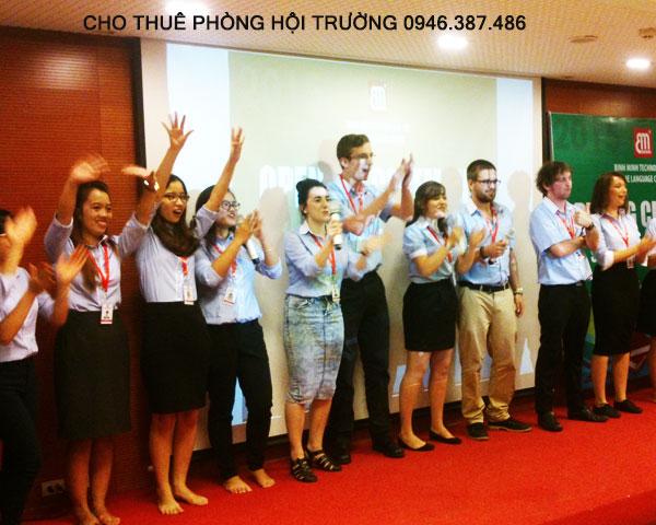 Cho thuê phòng hội thảo đẹp tại Hà Nội