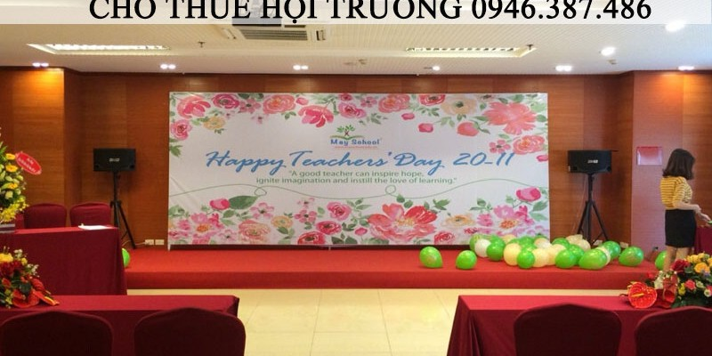 May school chào mừng ngày Nhà giáo Việt Nam 20-11