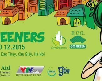 """Sự kiện """"Thợ xanh thành phố – City Greeners 2015"""" tại hội trường VITD"""