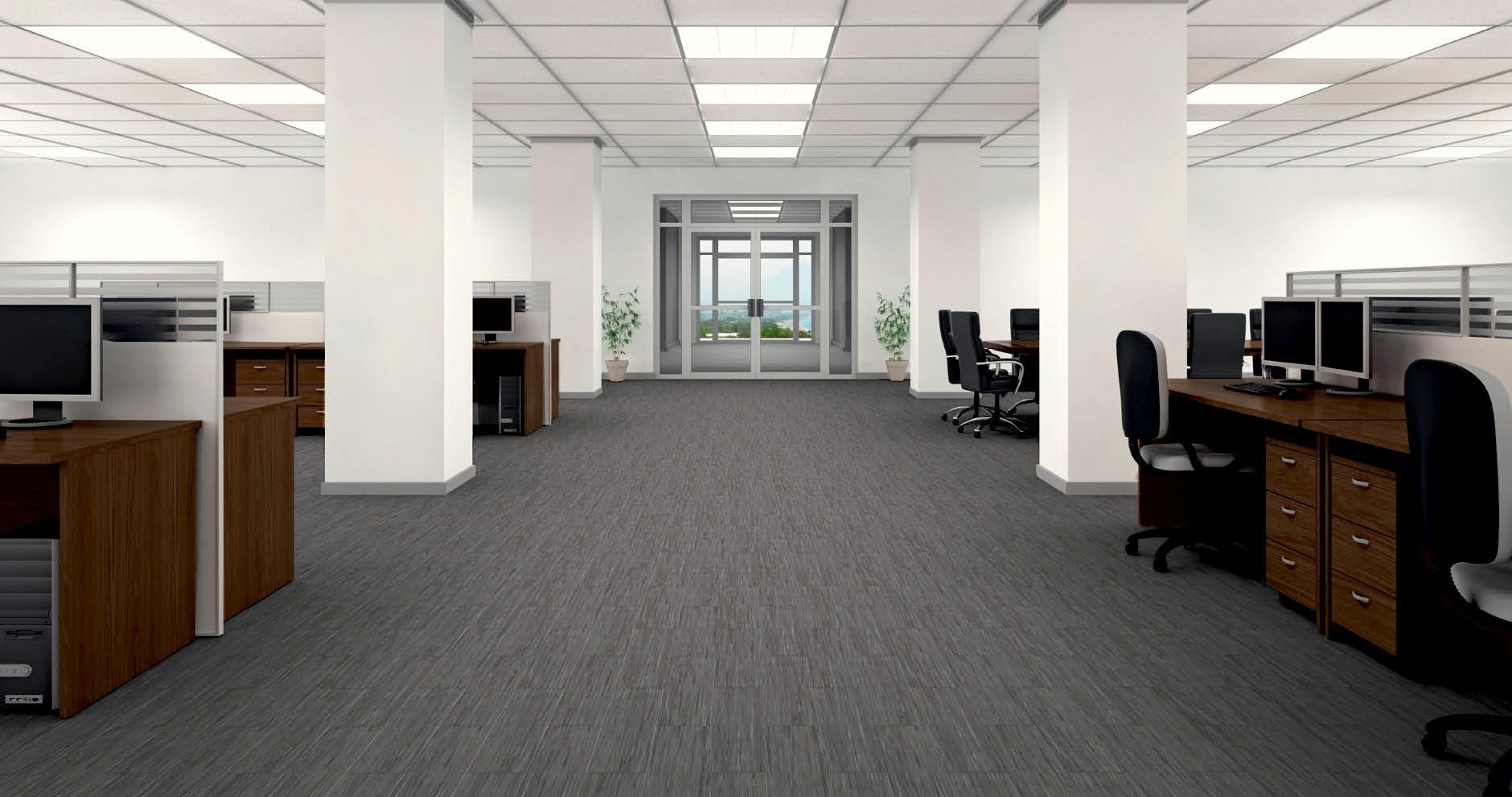 Lựa chọn thảm trải sàn cho nội thất văn phòng
