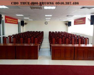 Cho thuê hội trường tại Duy Tân – Cầu Giấy