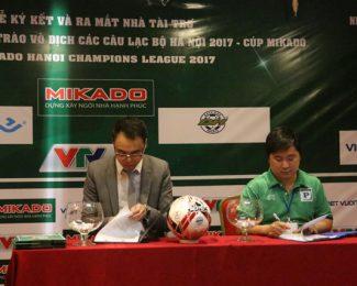 Công bố lịch thi đấu giải bóng đá Mikado Hà Nội Champions League 2017