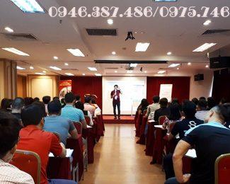 Hội trường tổ chức khóa ActionCOACH