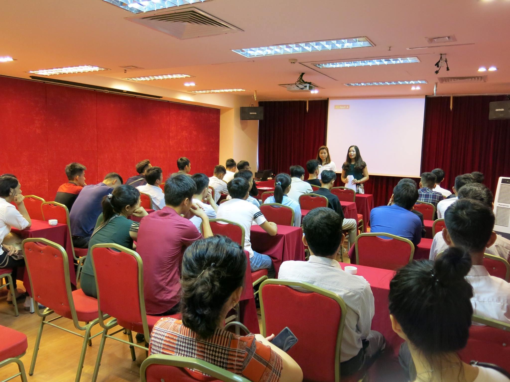 Cho thuê hội trường - Phòng hội thảo - Phòng đào tạo tại Hà Nội