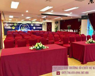 Cho thuê hội trường tổ chức sự kiện 15 năm thành lập NIIT ICT Hà Nội