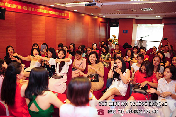 Hội trường tổ chức đào tạo, training, tập huấn 0946387486
