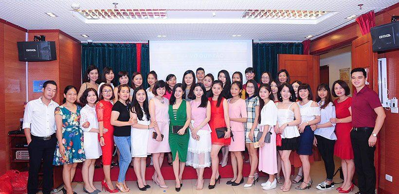Hội trường tổ chức buổi chia sẻ của công ty Laco