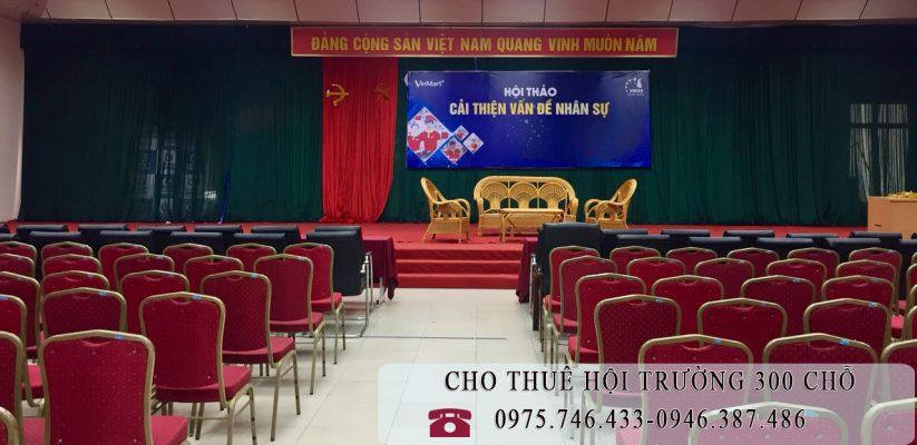 Cho thuê hội trường lớn tại Hà Nội 0946.387.486