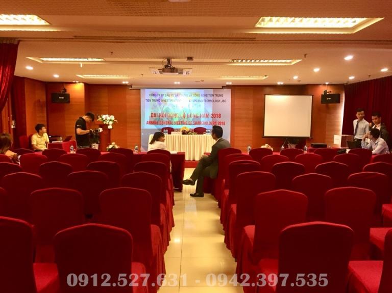 ĐHCĐ thường niên CTCP Đầu tư Xây dựng và Công nghệ Tiến Trung