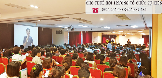 Cho thuê hội trường tổ chức khóa học 0946.387.486