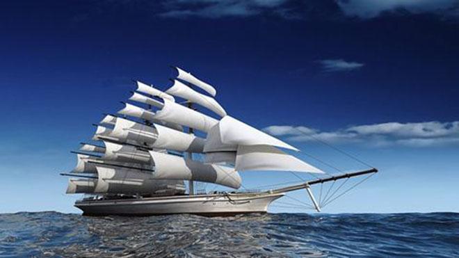 """Ý nghĩa và cách treo tranh """"Thuận buồm xuôi gió"""""""