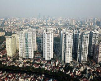 TP. Hà Nội có mật độ xây dựng cao gấp đôi Singapore
