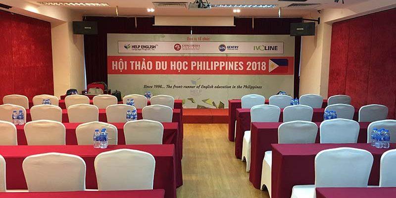 Hội thảo du học Philippines 2018 tại VITD