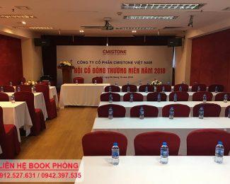 Đại hội cổ đông thường niên năm 2018 của công ty cổ phần Cmistone Việt Nam