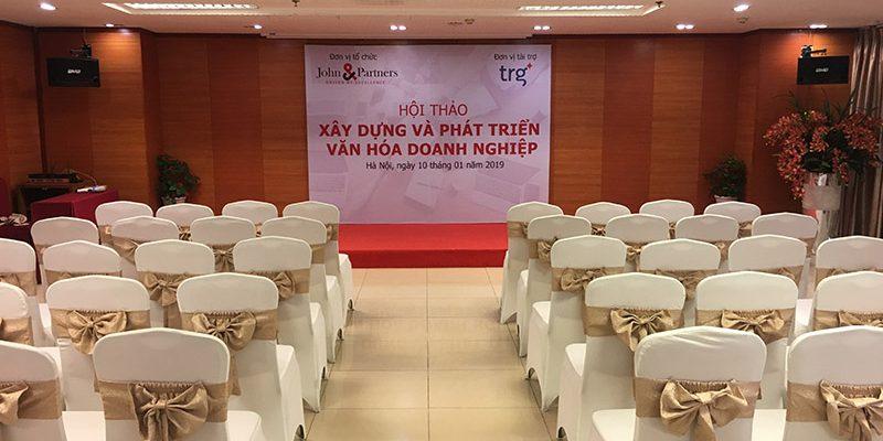 """Hội thảo """"Xây dựng và phát triển văn hóa doanh nghiệp"""" tại hội trường VITD"""