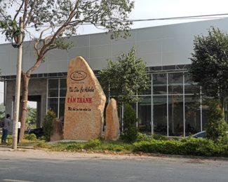 """Công trình xây dựng có bảng ghi Khu dân cư Alibaba Tân Thành bị """"sờ gáy"""""""