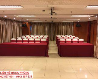 Cho thuê hội trường tại Hà Nội – LH: 0912 527 631