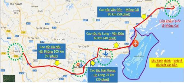 Cao tốc Vân Đồn – Móng Cái sẽ được khởi công xây dựng trong tháng 3