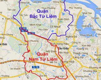 Hà Nội điều chỉnh địa giới: Nhập 8 tổ dân phố Bắc Từ Liêm về Cầu Giấy