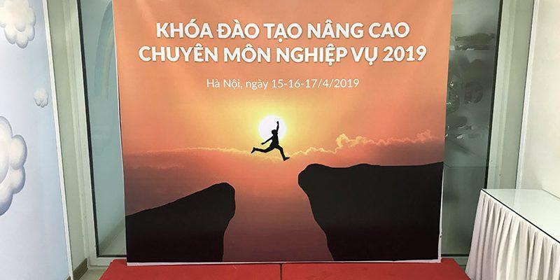 Khóa đào tạo nâng cao chuyên môn nghiệp vụ 2019 tại hội trường VITD
