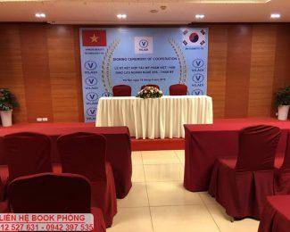 Lễ ký kết hợp tác mỹ phẩm Việt Hàn tại hội trường VITD