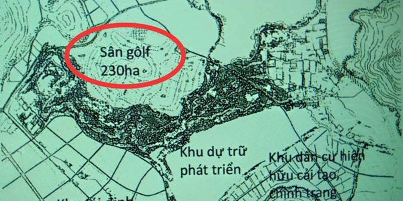 Điều chỉnh quy hoạch hai sân Golf ở Phú Quốc