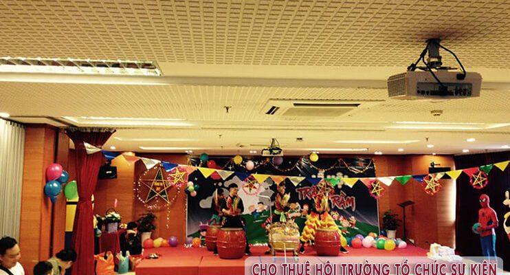 Cho thuê hội trường tổ chức Trung Thu tại Hà Nội