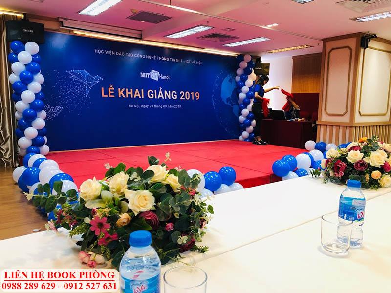 Hội trường tổ chức sự kiện tại Hà Nội