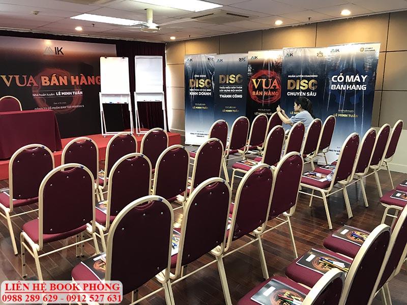 Phòng tổ chức sự kiện tại Hà Nội