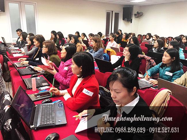 Cho thuê hội trường tổ chức đào tạo tại Cầu Giấy 0946387486